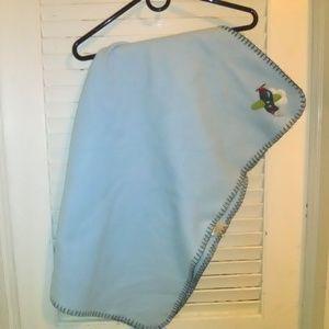 Garanimals Airplane Blue Baby Blanket Infants
